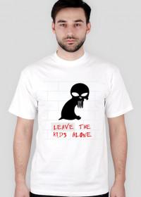 punisher leave kids white