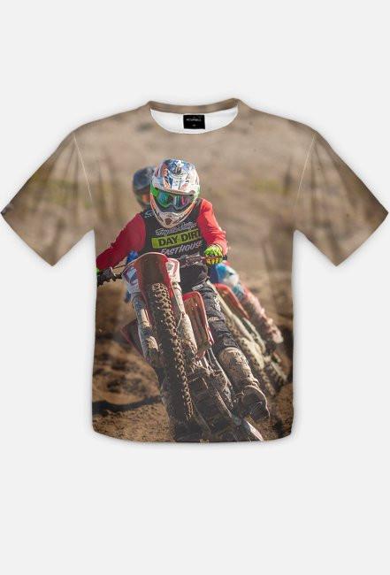 Motorbike FullPrint 2 - koszulka dla motocyklisty