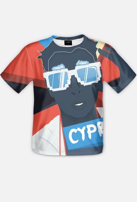 Cyprian - Full Print Koszulka