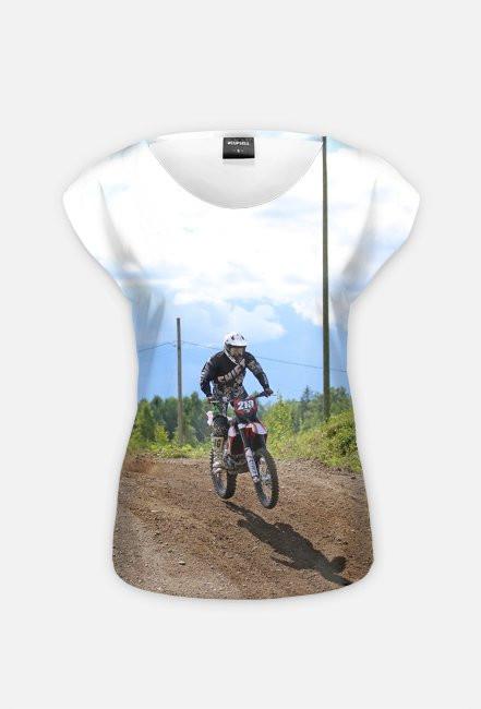 Motorbike FullPrint 3 - koszulka dla motocyklistki