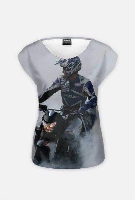 Motorbike FullPrint 4 - koszulka dla motocyklistki