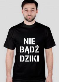 """Zabawna koszulka z napisem """"Nbdzkdsl"""""""