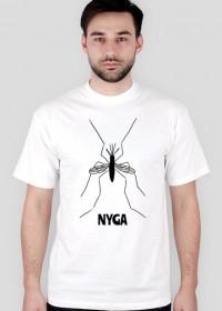 "Zabawna koszulka ""NYGA"""