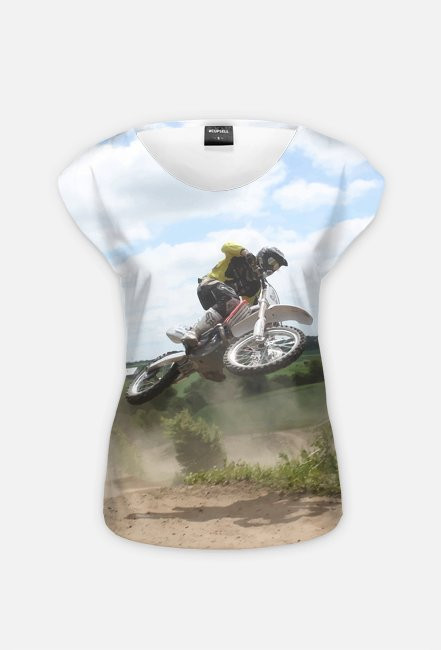 Motorbike FullPrint 6 - koszulka dla motocyklistki