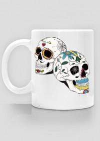 2 Skulls Mug