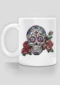HandPainted Skull Mug