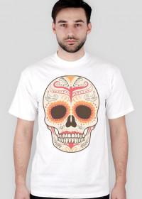 Orange Skull Man