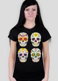 Skull Quartet 3 Woman