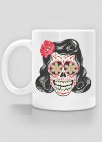 She 50's Skull Mug