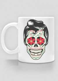 He 50's Skull Mug