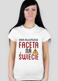"""Sztabka koszulka z nadrukiem """"Facet"""""""