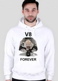 Bluza męska z kapturem V8 rozm XL