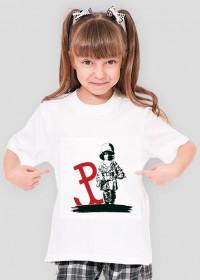 Koszulka dla dziewczynek MAŁY POWSTANIEC