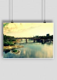 rzeka Wisła w Warszawie
