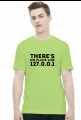 Koszulka 2 - there's no place like 127.0.0.1 - koszulki nietypowe, śmieszne - chcetomiec.cupsell.pl
