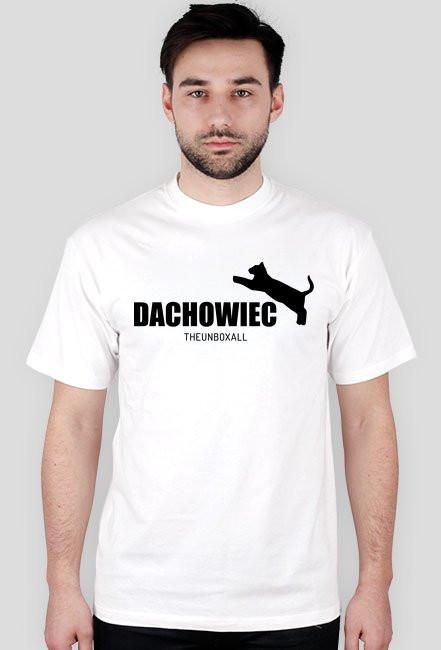 Koszulka DACHOWIEC (czarny nadruk)
