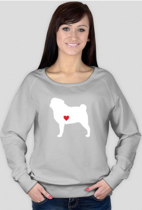 Damska bluza - Mops