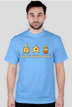 Mario humorystyczna pieniądze moc dziewczyna
