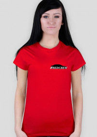Red Crew T-shirt W #1