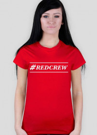 Red Crew T-shirt W #2