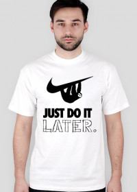 Just Do It, LATER.