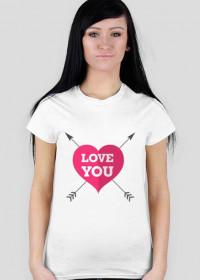 Koszulka Love You