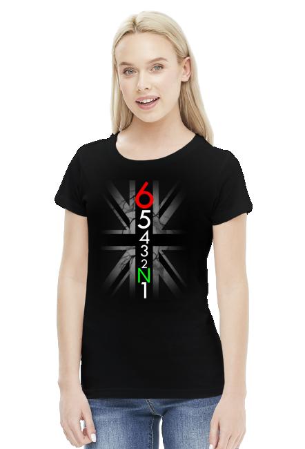Skrzynia biegów - damska koszulka motocyklowa