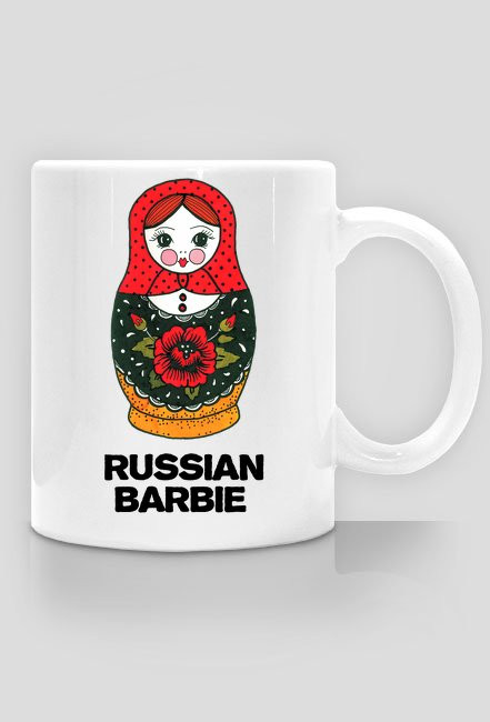 Russian Barbie Mug