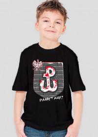 Koszulka dla chłopca - Polska. Pada