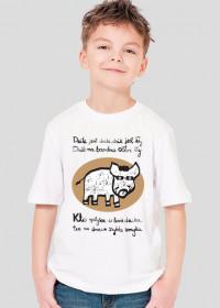 Koszulka z dzikiem