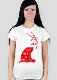 kozioł lose head red woman standard
