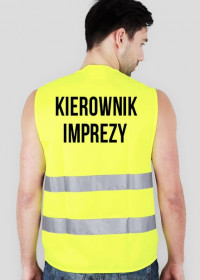 Kamizelka odblaskowa- Kierownik Imprezy