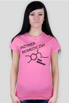 Koszulka Damska Inżynier Biomedyczny II - SmartShirt