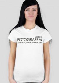Koszulka dla fotografa damska - Super fotograf