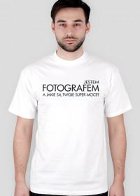 Koszulka dla fotografa - Super fotograf