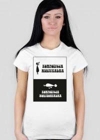 Koszulka dla fotografa damska - Kompozycja zmienną jest