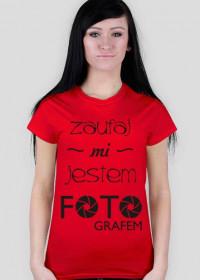 Koszulka dla fotografa damska - Nie bój się