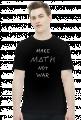 Koszulka czarna - MAKE MATH ♂