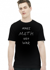 Slim czarna - MAKE MATH ♂