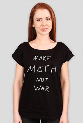 Oversize czarna - MAKE MATH ♀