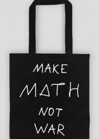 Torba czarna - MAKE MATH