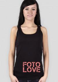 Koszulka dla fotografa damska - FotoLove