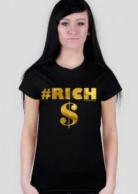 Koszulka Damska Rich Elitarna - SmartShirt