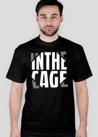 InTheCage Original Black MMA Fight T-Shirt