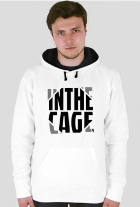 InTheCage Bluza MMA Black Hoodie