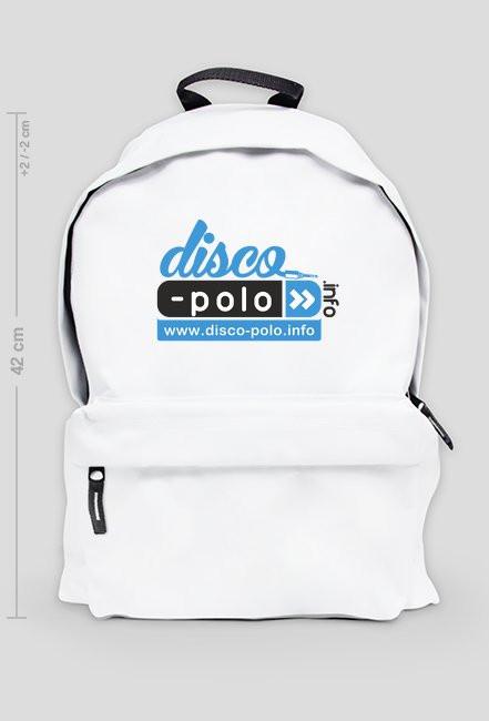 Duży plecak DISCO POLO (biały)