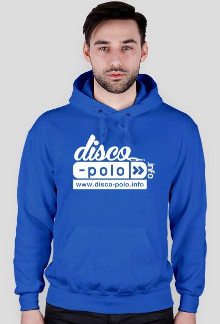 Bluza męska z kapturem DISCO POLO (różne kolory)