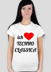 ich Liebe Techno Classica (light t-shirt) for woman
