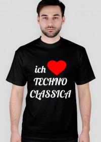 ich Liebe Techno Classica (dark t-shirt)