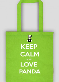 Torba - Keep Calm And Love Panda